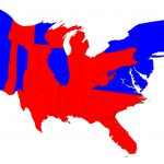 Election Maps Inside Red State Blue State Map