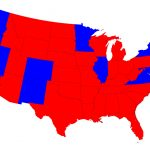 Election Maps With Map Of Red States And Blue States 2016