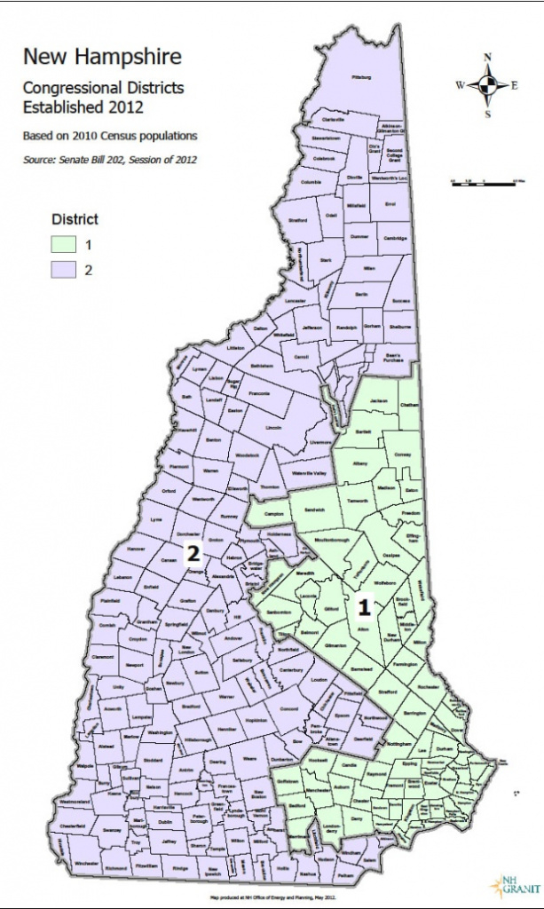 Eleven Maps That Explain New Hampshire's Political Geography pertaining to Nh State Congressional Districts Map