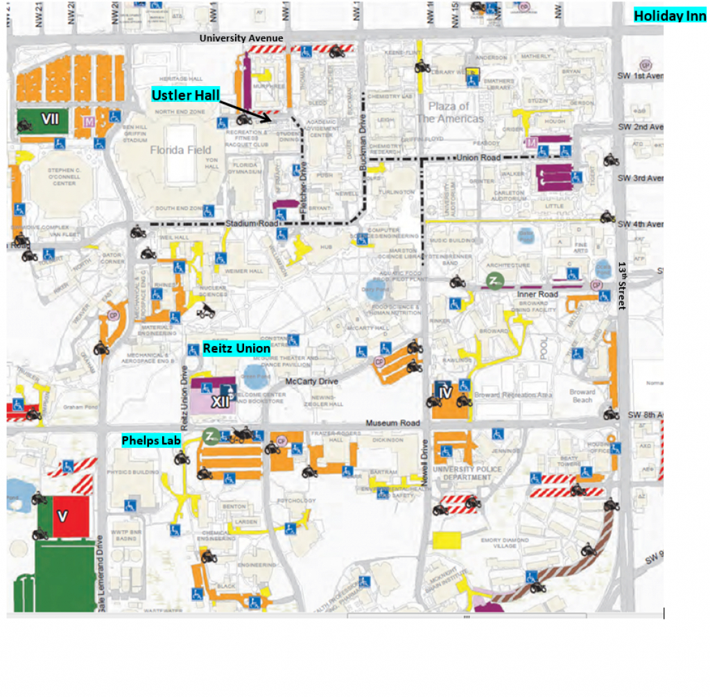 Emergy Systems | Center For Environmental Policy | University Of Florida intended for Florida State Parking Map