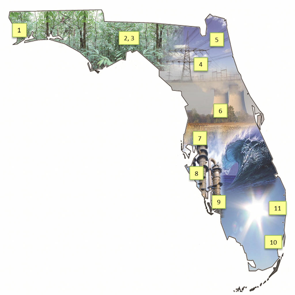 Energy Educationinstitution « Fesc in Florida State Colleges Map