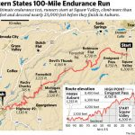 Eric Byrnes Trades Bats And Balls For 100 Mile Runs | The Sacramento Bee With Western States 100 Map