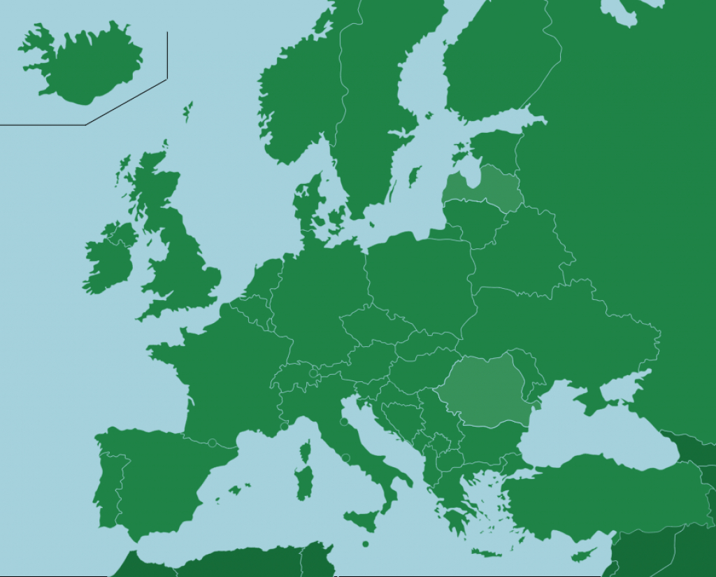 Europe: Countries - Map Quiz Game with regard to Put The States On The Map Game