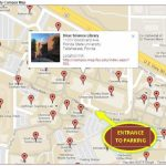 Event Map And Parking | Florida State University Libraries Intended For Florida State Parking Map