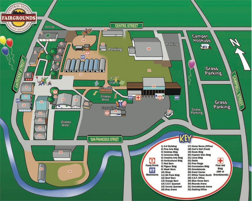 Event Map with regard to Wisconsin State Fair Grounds Map