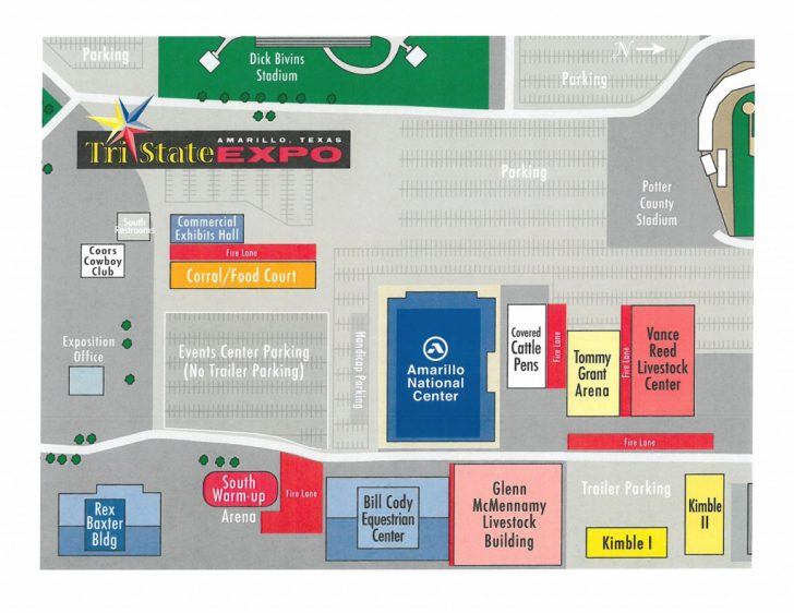 Texas State Fair Map Pdf