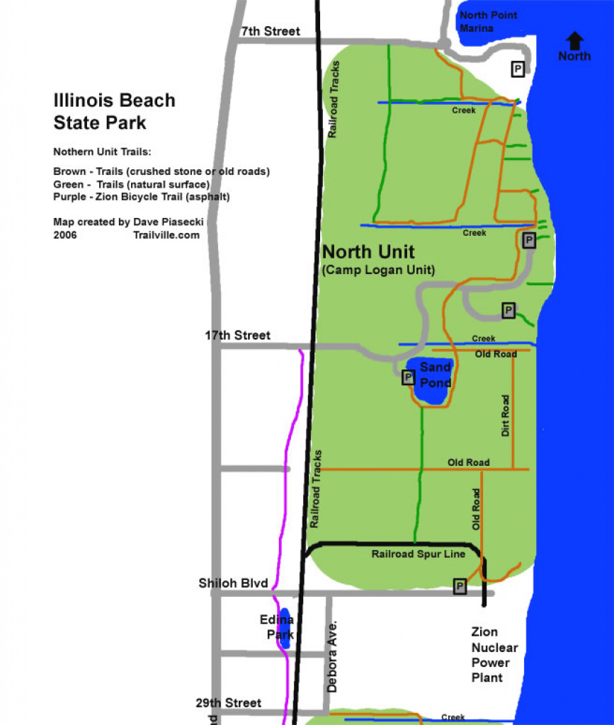 Experience Lake Michigan At Illinois Beach State Park - Visit Lake with regard to Illinois State Campgrounds Map