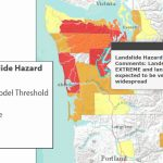 Extreme Landslide Hazard For Mason County – Masonwebtv With Regard To Washington State Landslide Map