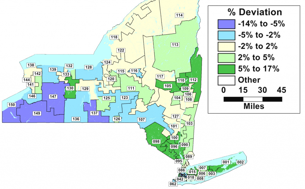 Failure Of Redistricting Reform Could Bring Reprise Of 2002's Fiasco regarding New York State Assembly District Map