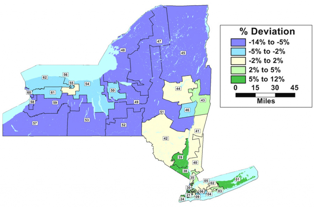 Failure Of Redistricting Reform Could Bring Reprise Of 2002's Fiasco with Ny State Representative District Map