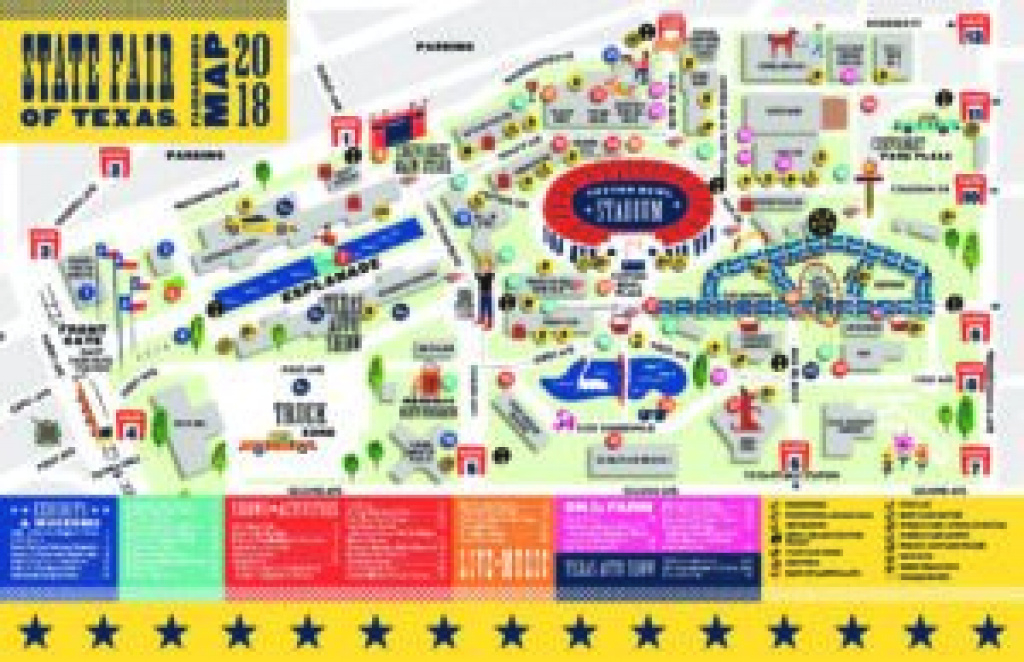 Fairgrounds Map | State Fair Of Texas pertaining to Texas State Fair Map Pdf