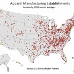 Fashion : Spotlight On Statistics: U.s. Bureau Of Labor Statistics Throughout United States Industry Map
