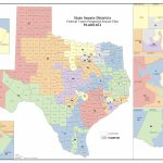 Federal Judges Propose Maps For Texas Legislative Races | The Texas Within Texas State House District Map
