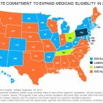 Fewer Than Half Of States To Expand Medicaid | Avalere Health With Regard To Medicaid Expansion States Map