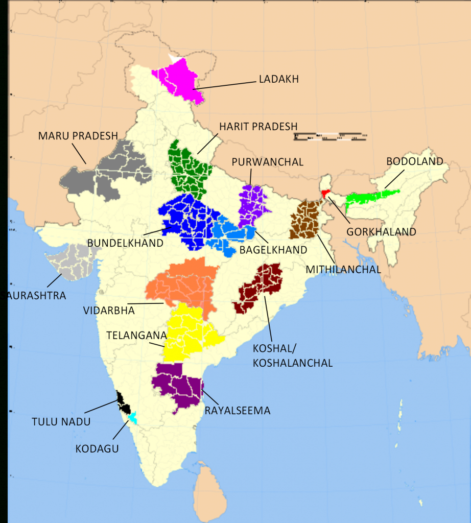 File:aspirant States Of India Annotated - Wikimedia Commons inside Kosal State Map