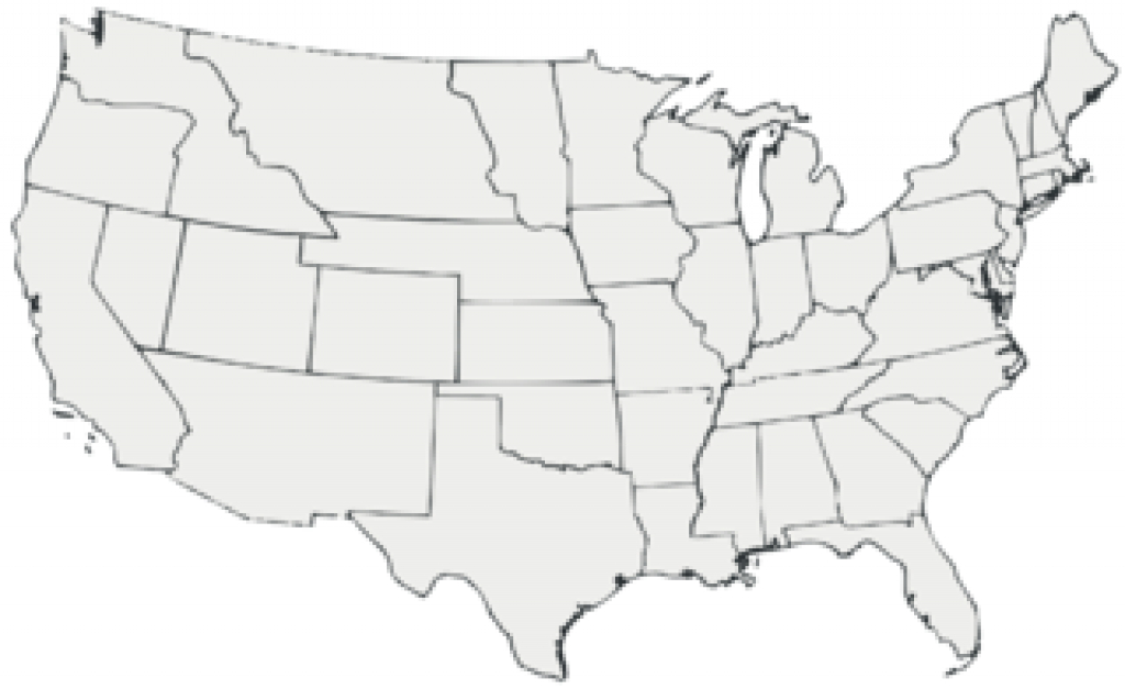 File:blank Map Of The United States 1860 All White - Wikimedia intended for Blank Map Of United States In 1860