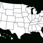 File:blank Us Map Borders.svg   Wikimedia Commons With Regard To Us Map With State Lines