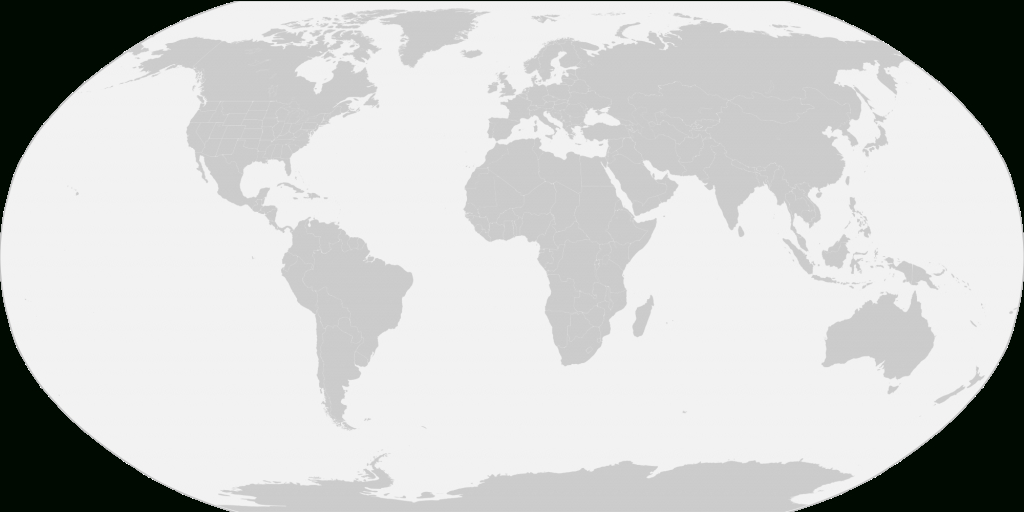 File:blank World Map With Us States Borders.svg - Wikimedia Commons with regard to Map Of The World With Us States