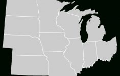 File:blankmap-Usa-Midwest.svg – Wikimedia Commons pertaining to Blank Map Of Midwest States