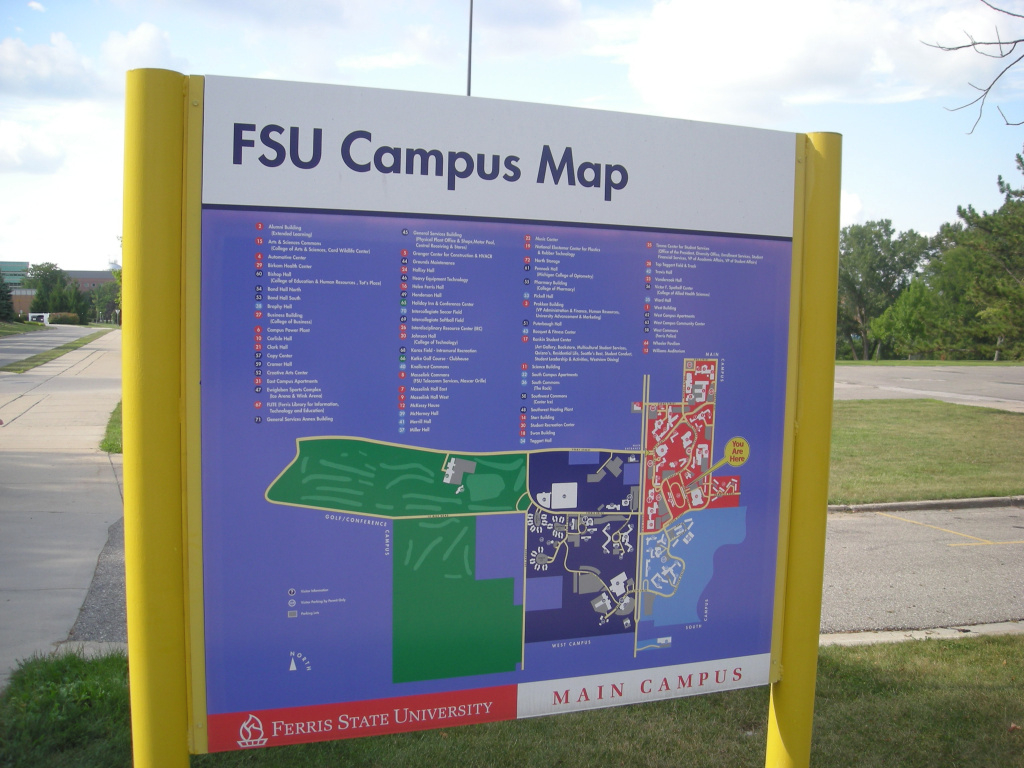 File:ferris State University August 2010 04 (Campus Map) in Ferris State University Campus Map