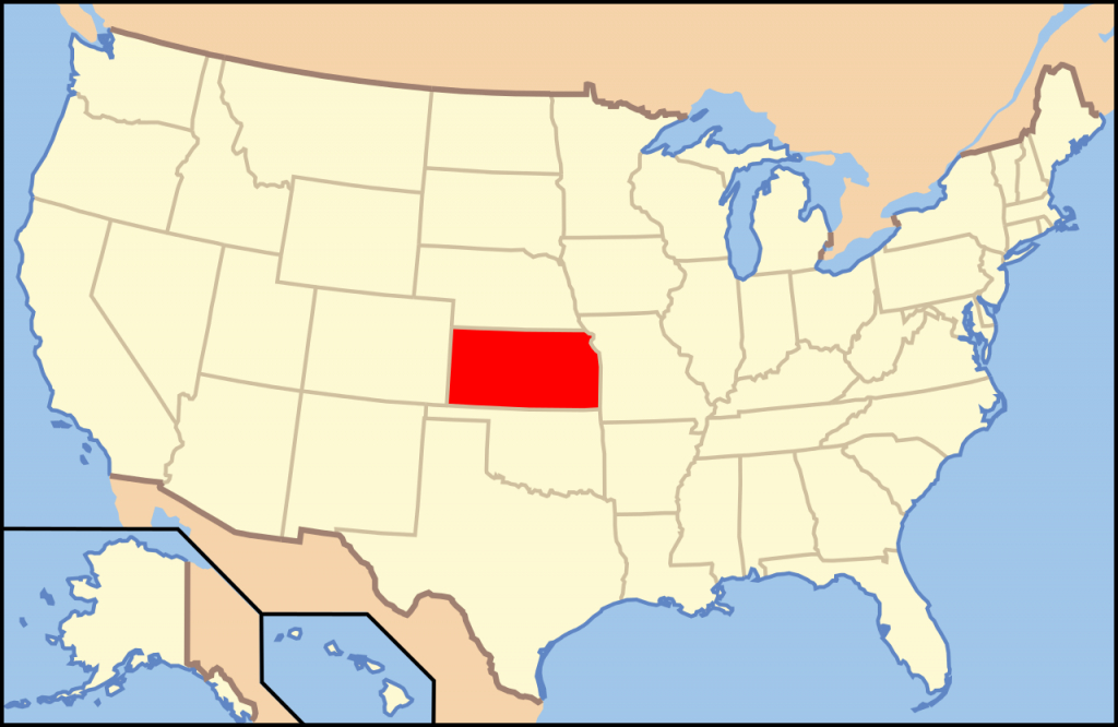 File:map Of Usa Ks.svg - Wikipedia throughout Picture Of United States Map