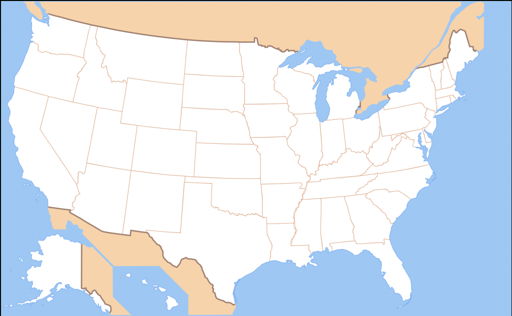 File:map Of Usa Without State Names.svg - Wikimedia Commons in Us Map Without State Names