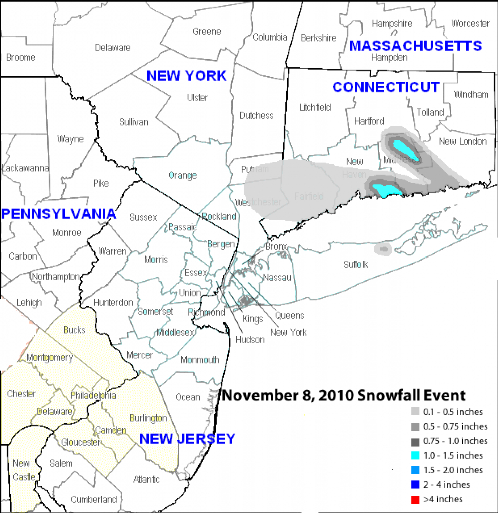 File:november 8, 2010 Tri-State Area Snowfall - Wikimedia Commons for Tri State Map