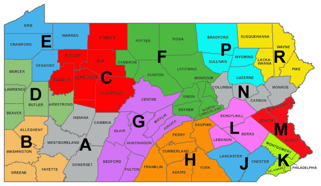 File:pa - State Police Troops - Wikipedia with regard to Pa State Police Troop Map