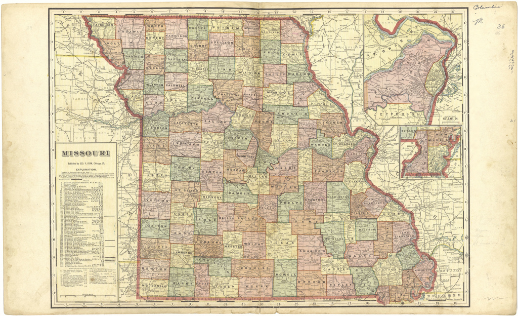 File:standard Atlas Of Cedar County, Missouri - Including A Plat within State Reference Map Missouri