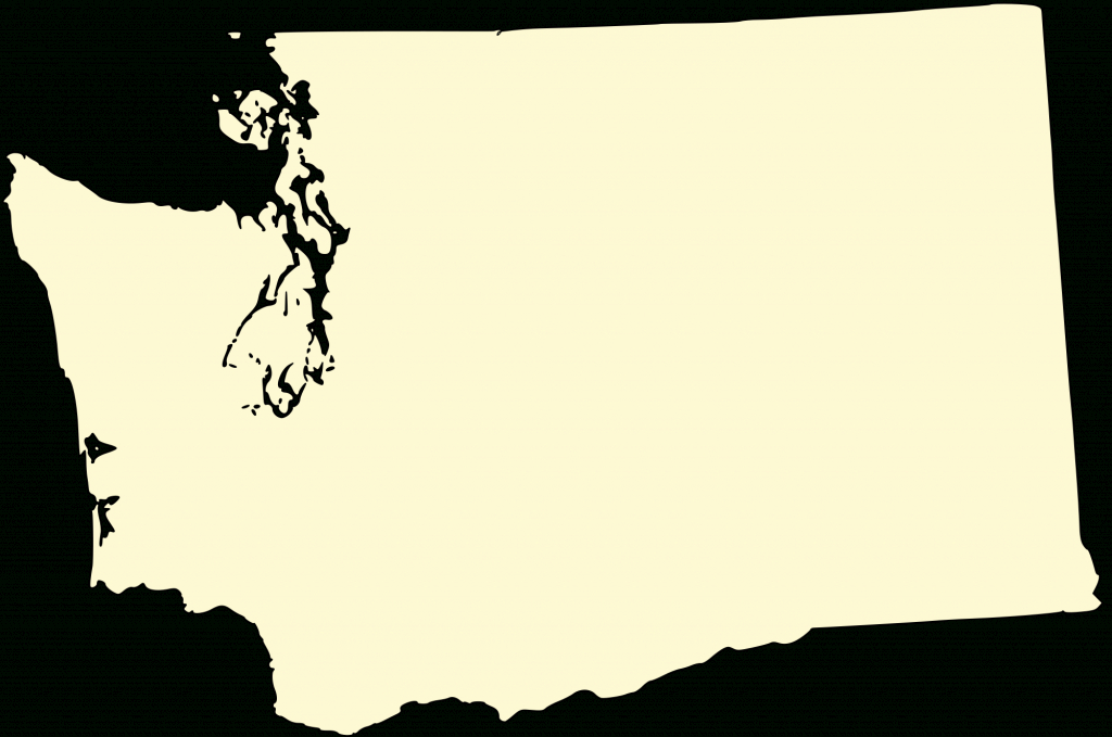 File:washington-State-Map H.svg - Wikimedia Commons regarding Washington State Map Outline