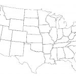 Fillable Us State Map United States Maps Blank Us Road Map United For Blank Us State Map