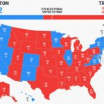 Final Electoral College Map   Business Insider In Trump States Map