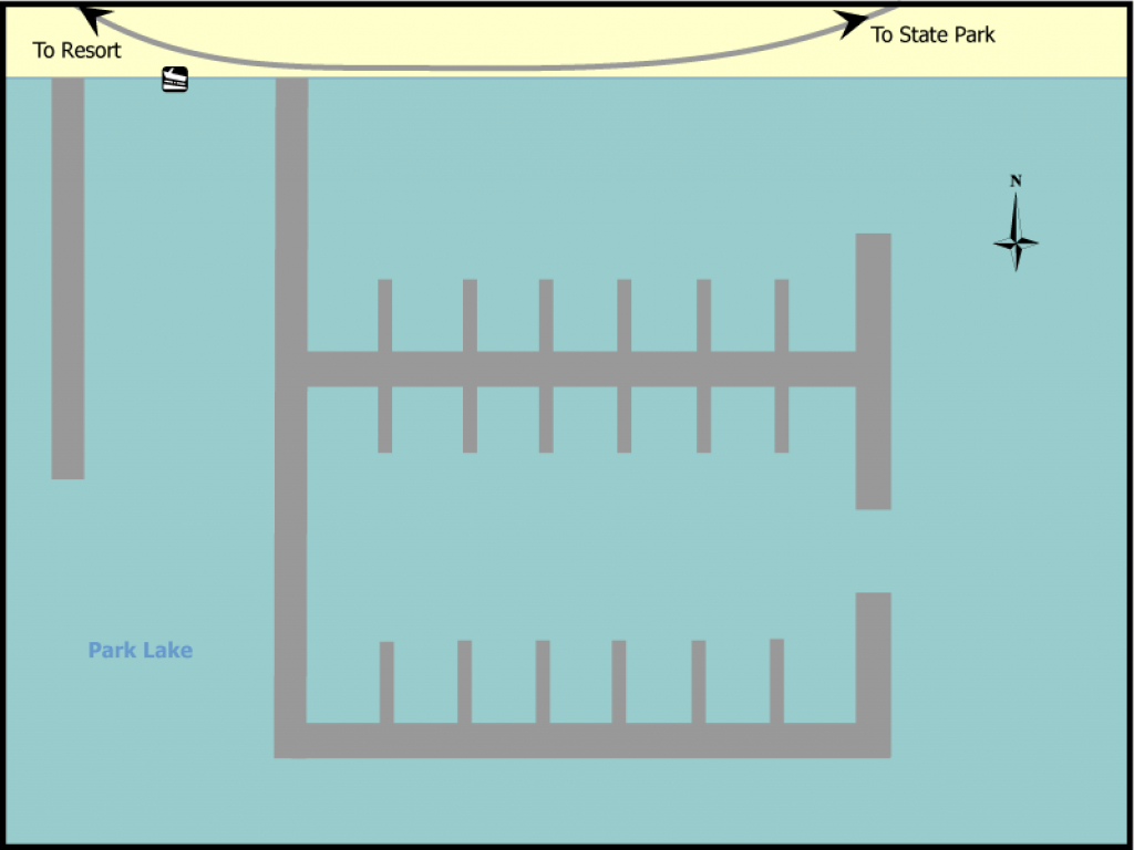Find A Site - Sun Lakes State Park > Marina - Washington State Parks for Sun Lakes State Park Site Map