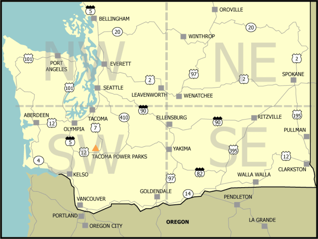 Find A Site - Washington State Parks Online Reservations for Sun Lakes State Park Site Map