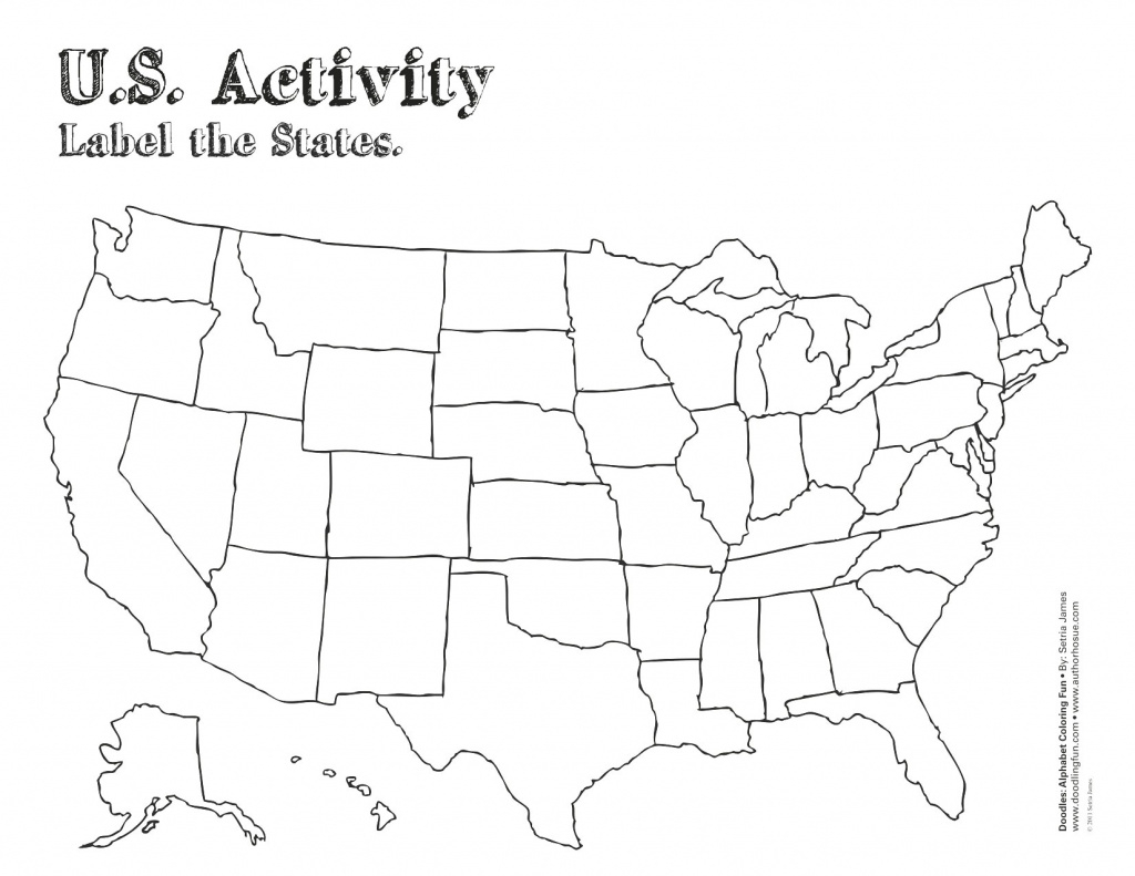 Find Map Usa Here Maps Of United States Part Unique And Free Blank intended for A Blank Map Of The United States