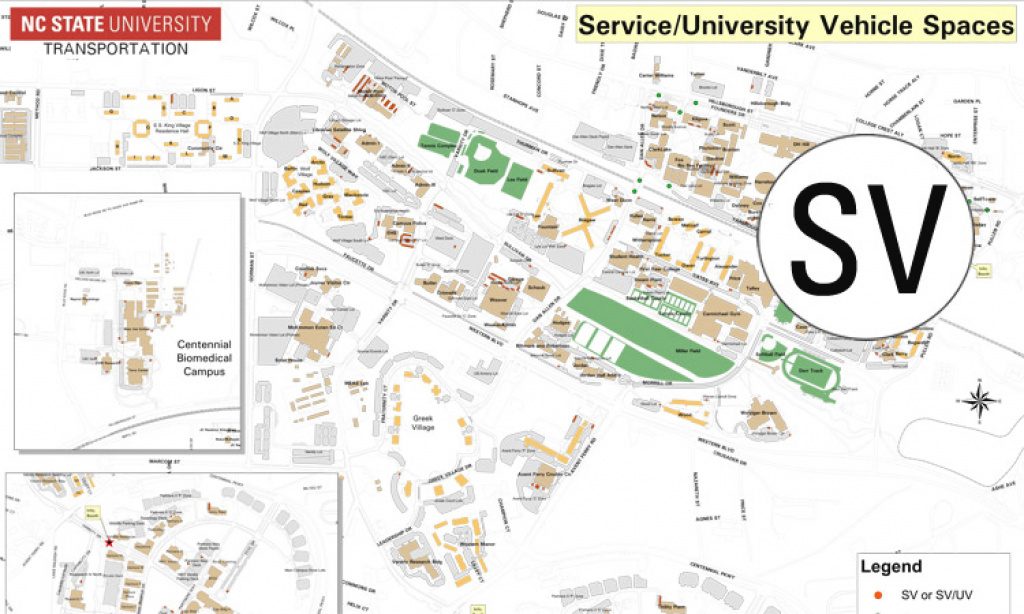Find My Way Around Nc State Campus regarding Nc State Parking Map