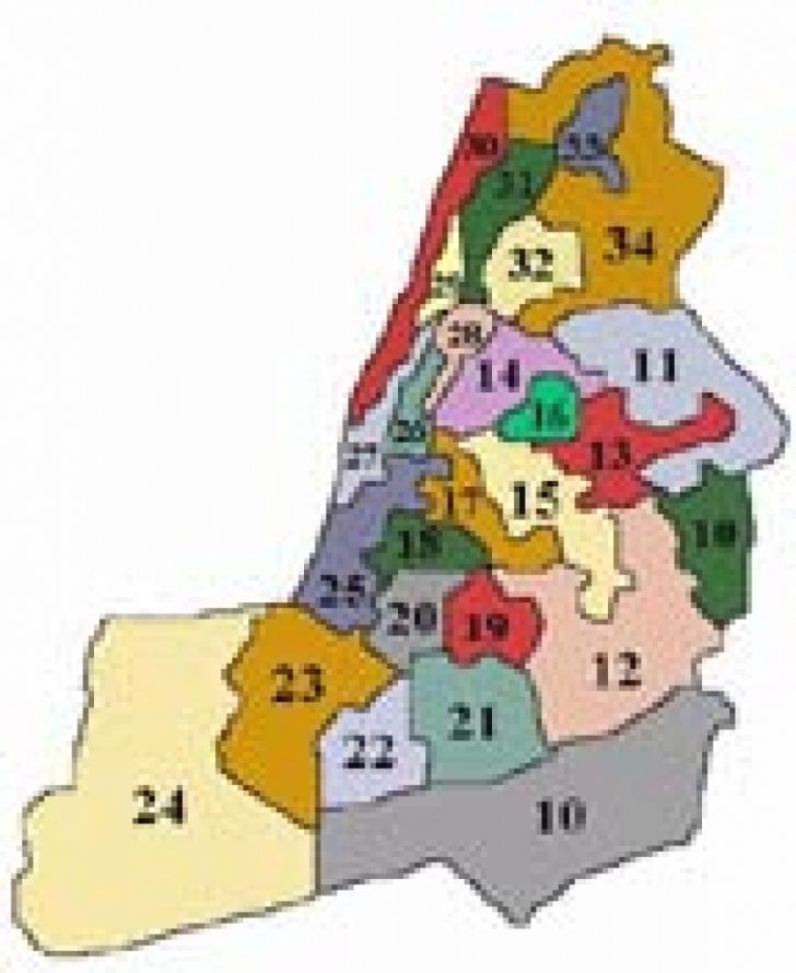 Ny State Representative District Map