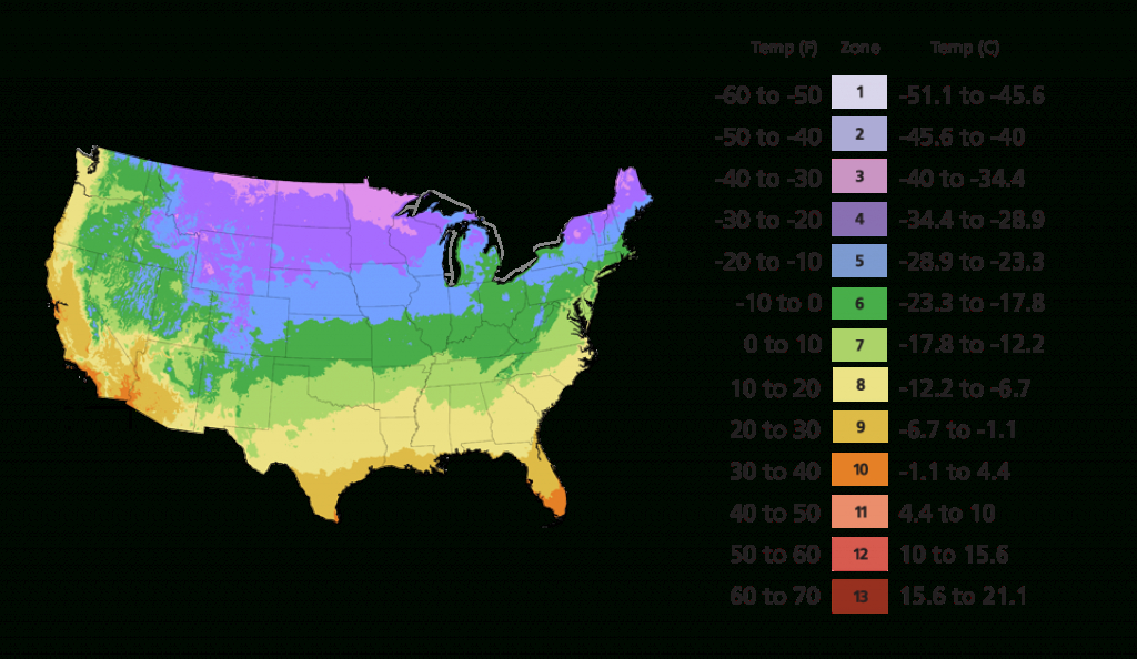 Find Your Zone | Southern Living Plants inside Map Of Planting Zones In United States