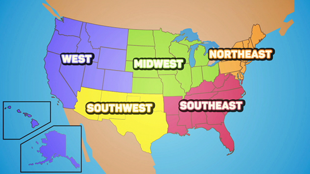 Flocabulary - Educational Hip-Hop regarding United States Map Divided Into 5 Regions