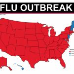 Florida Among 46 States With Widespread Flu Outbreaks In Washington State Flu Map