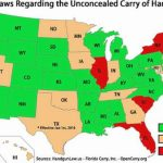 Florida Carry Action Alert: Open Carry Bill In Committee Tomorrow with regard to Open Carry States Map 2017