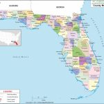 Florida Map Cities And Counties Fresh Florida State Map With With Regard To Florida State County Map With Cities