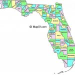 Florida Mapcounty And Cities And Travel Information | Download Pertaining To Florida State County Map With Cities