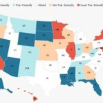 Florida Ranks #4 On Kiplinger's List Of Most Tax Friendly States Pertaining To State Income Tax Map