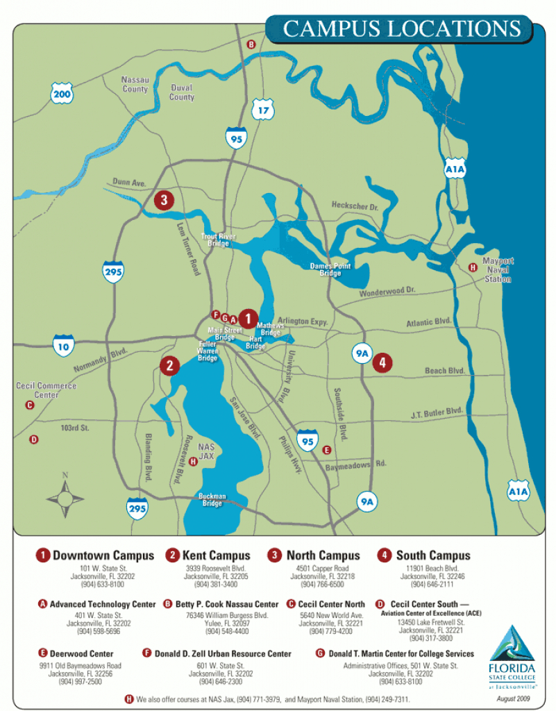 Florida State College - Acalog Acms™ throughout Florida State Colleges Map