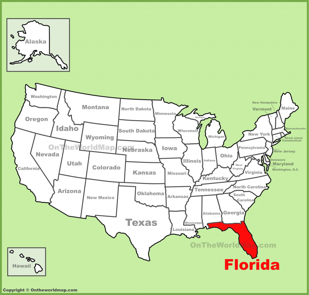 Florida State Maps | Usa | Maps Of Florida (Fl) pertaining to Florida State Map Printable