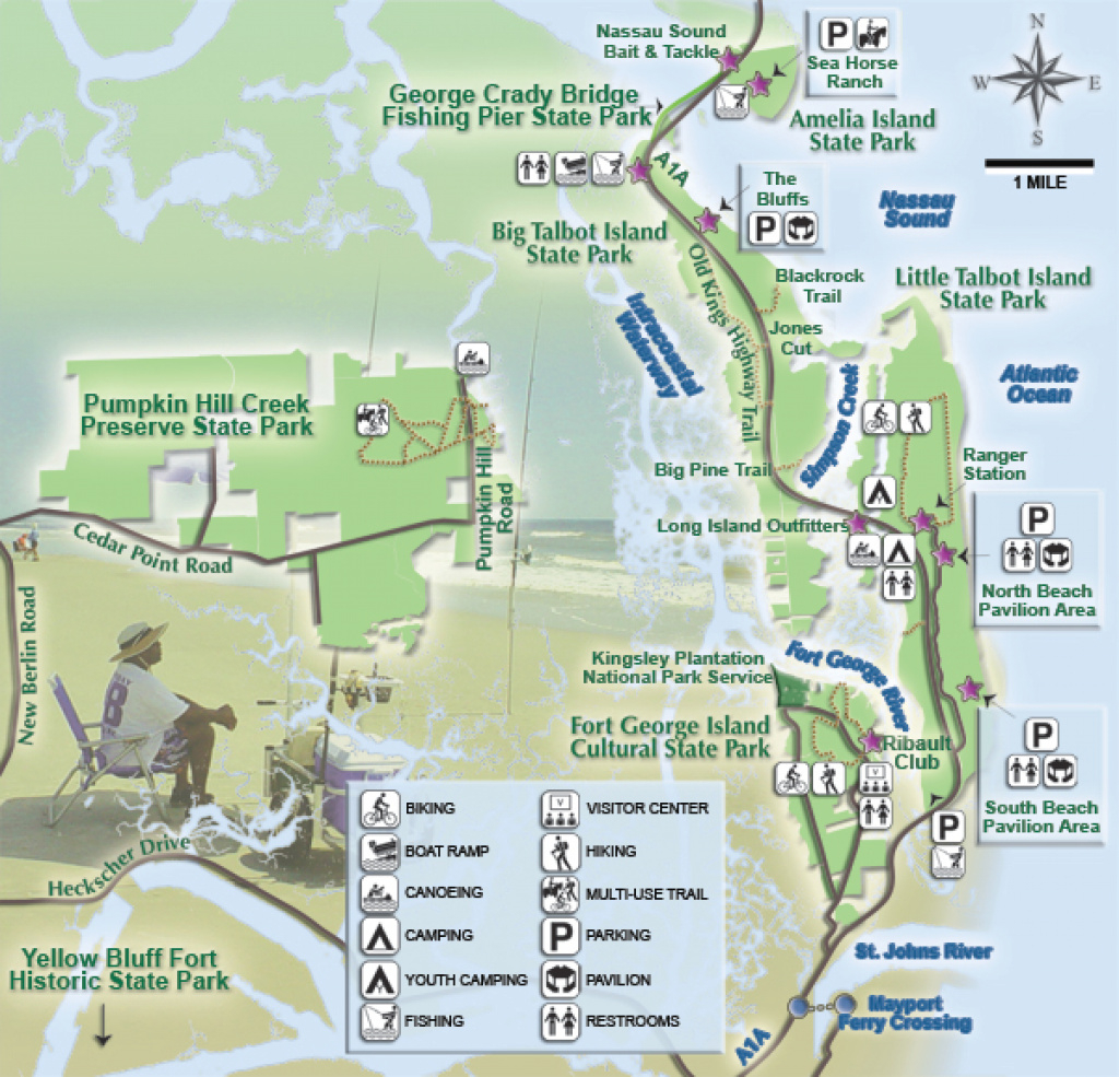 Florida State Parks : Woodall's Campground Management within Florida State Parks Camping Map
