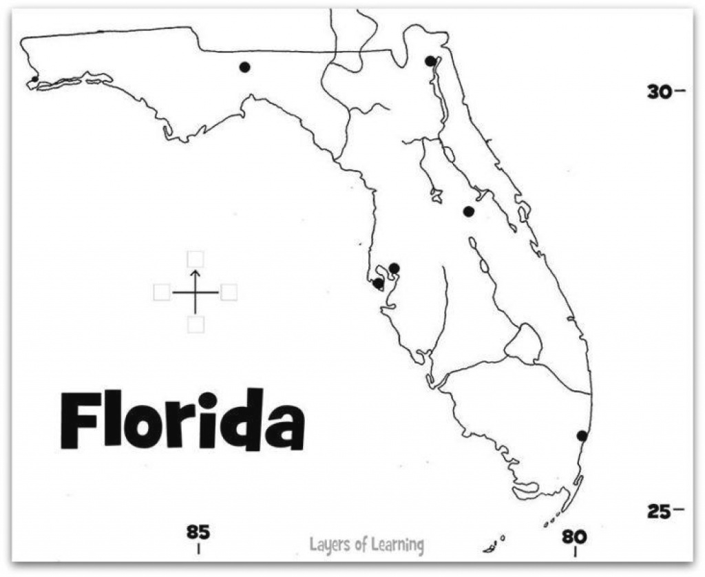 Florida State Study | Geography And Learning with regard to Florida State Map Printable