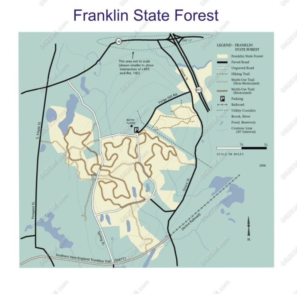 Franklin State Forest, Franklin, Ma | Franklin, Ma, Massachusetts inside Townsend State Forest Trail Map