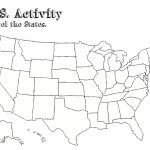 Free Blank Outline Map Of Us United States Map Pdf At Maps American Inside 50 States Map Pdf